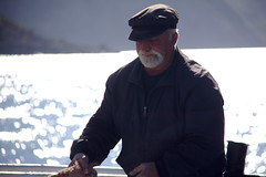 Ferry Captain (pbr42) Tags: people water h2o greece crete
