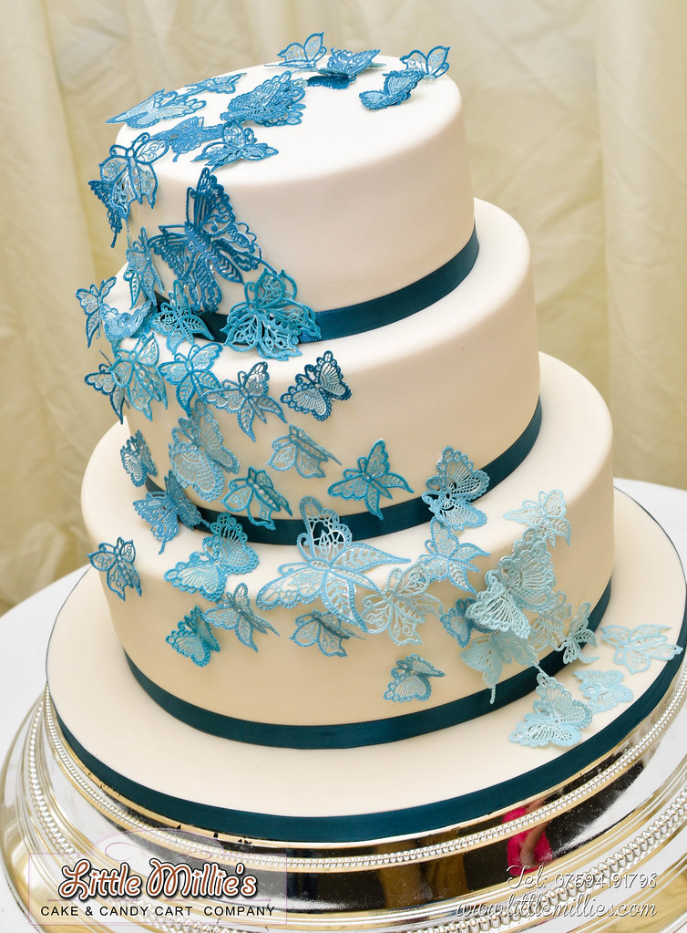 wedding cakes richmond ca the world s best photos of ribbon and teal flickr hive mind 25367