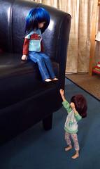 challenge/up & down! (Resin Rehab) Tags: doll nyu bjd mika dz dollzone