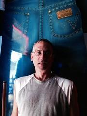 Wrangler Man (tampatroy727) Tags: gay man sexy guy st bar glasses kevin butt petersburg troy jeans fl triplex hostetler wrangler