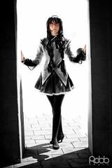 Homura Akemi by Yolanda (Robb_Prats) Tags: barcelona anime canon cosplay manga cosplayer akemi 2014 gank 600d homura puellamagimadokamagica madokamagica homuraakemi