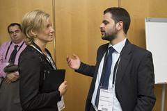 Mattia Dalle Vedove conversing