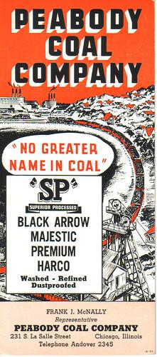 Old Bardeleben Zeigler Coal Vintage Dupo Il Ink Blotter