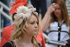 Derby Day Hat (PD3.) Tags: ladies girls girl hat lady downs hats racing surrey races milf derby epsom grandstand 2014 investec epsomdowns milfs