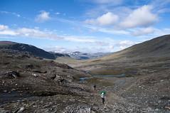 Kungsleden (P. Burtu) Tags: clouds landscape sweden hiking arctic sverige vandring landskap moln