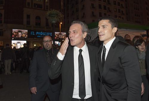 """José Coronado y Álex González en la premiere de """"El Príncipe"""""""