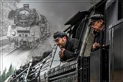 The old Lady (Schneeglöckchen-Photographie) Tags: eisenbahn railway locomotive lokomotive