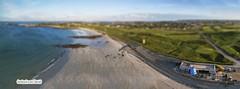 Pembroke sunset tilt shift (Ningaloo.) Tags: panorama kite pembroke kevin pano aerial kap guernsey lajoie aeriali kevinlajoie