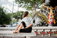 IMG_2422ChristineHewitt_YogicPhotos (yogicphotos) Tags: travel woman india fish laura yoga women worship hinduism mysore asana chamundihill ashtanga christinehewitt nandibull ardhamatsyendrasana yogaphotography yogaphotographer yogicphotos halflordofthefishpose