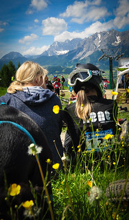 Waiting for the start in Schladming