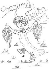 JM 007 b (mmaammbr) Tags: fruit pattern embroidery cartoon banana dow anthromorphic