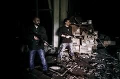 Snia Survivors (Federico Zimbaldi) Tags: abandoned movie nikon war action soldiers federico guerrilla survivors mercenary distopic snia zimbaldi
