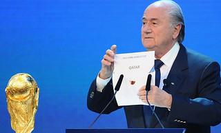 卡塔尔靠贿选赢世界杯主办权?