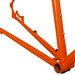 Gunnar Hyper-X in Monarch Orange - Chainstay Detail