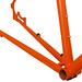 Gunnar Hyper-X in Monarch Orange - Chainstay Detail