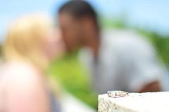 1110 (nonsensephoto) Tags: love beautiful engagement kiss engagementring ring interracial