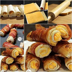 Crispy Bacon Grilled Cheese Roll Ups (Wonderful DIY) Tags: cheese bacon crispy ups roll grilled