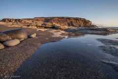 la pared (nils tiburon) Tags: beach strand fuerteventura playa canarias plage lapared