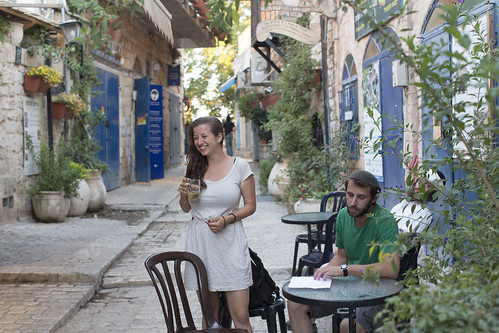 OUTDOOR CAFE IN SAFED_SD12IGA03408 - GAL by Israel_photo_gallery, on Flickr