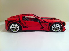Lego 8070 modification (pneumatic suspension and rc) (sm 01) Tags: lego pneumatic suspension technic modification supercar motorized pf 8070