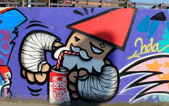 Graffiti Utrecht (oerendhard1) Tags: urban streetart art underpass graffiti utrecht tunneltje kbtr