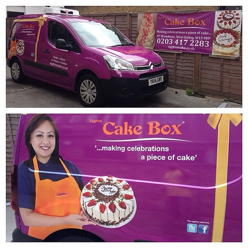 Keep an eye out for our new vans Nationwide #cake #cakebox #novelty #  sc 1 st  Flickriver & Flickriver: Photos from Cake Box Ealing Aboutintivar.Com