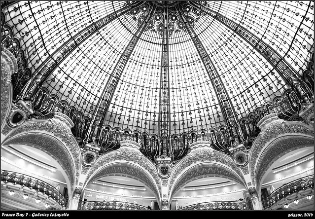 France Day 7 - Galeries Lafayette