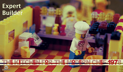 LEGO Idea book , 3 years and up (Peter von Kappel) Tags: kitchen vintage idea book lego chef ideas minifigure