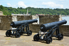Upnor Cannons (John A King) Tags: castle kent cannon upnor englishheritage