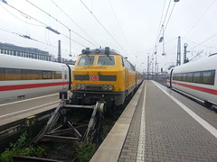 218 477-8 D-DB Netz (dolanansepur) Tags: br railway db bahn deutsche 218 v160 fahrwegmessungzug