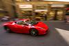 Speeding thru Florence (Philing Phrames) Tags: italy motion car florence ferrari panning speeding sportscar d600 redsportscar 142428