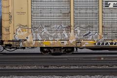 Wake (Psychedelic Wardad) Tags: freight graffiti a2m wake