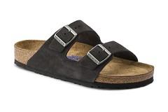 """Birkenstock Arizona Soft Footbed sandal velvet grey • <a style=""""font-size:0.8em;"""" href=""""http://www.flickr.com/photos/65413117@N03/32805843215/"""" target=""""_blank"""">View on Flickr</a>"""