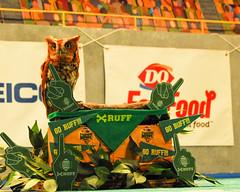 Owl Mascot Team Ruff Puppy Bowl XIII (3) (Scott Yeckes) Tags: animals birds animalportrait animalstill mascot owl portrait puppybowl teammascot voyer discoverynetwork animalplanet