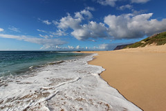 Queen's Pond - Polihale State Park Beach (russ david) Tags: queens pond polihale state park kauai september 2016 beach pacific ocean landscape ハワイ 風景
