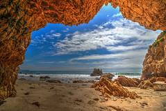Mouth of the Cave (Michael F. Nyiri) Tags: malibu california southerncalifornia beach pacificocean ocean rockyshore rock elmatadorbeach