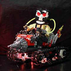 """I will break you"" (Frost Bricks) Tags: lego bane rc technic racer moc drill machine"