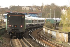 66711 Peckham Rye (localet63) Tags: gbrailfreight class66 66711 sence peckhamrye