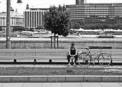 Revisión (Campanero Rumbero) Tags: budapest hungary hungria monocromo bn day dia travel turismo trip summer verano city ciudad street calle europe europa bicicleta bicycle