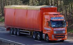 VOLVO FH - STEVENSON Avonbridge (scotrailm 63A) Tags: lorries trucks stevenson