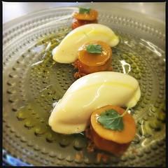 Foie gras dessert by chef François Geurds FG Food Labs (Un tocco di zenzero) Tags: rotterdam myrotterdam visitholland visitrotterdam schiedam gin loopuyt