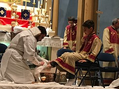 "Washing of the feet service 2017 • <a style=""font-size:0.8em;"" href=""http://www.flickr.com/photos/124917635@N08/33225050073/"" target=""_blank"">View on Flickr</a>"