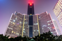 DOMINATE (Tim van Zundert) Tags: citicplaza skycentralplaza guangdong tienhe tianhe guangzhou skyscraper tower photography architecture building city night evening longexposure china sony a7r voigtlander 21mm ultron