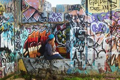 DSC05577 (intothesierra) Tags: rodeobeach marincounty goldengatebridge friendship ocean sanfrancisco roadtrip graffiti life
