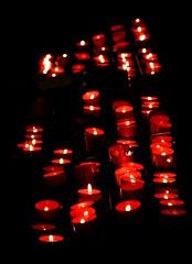 Hopefully... (ruijose68) Tags: dark light hope flame candle church prayer harmony heartawardsgroup