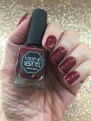 Il Était Un Vernis - Pinot Noir (Jane Iris) Tags: esmalte unhas nail polish holográfico vermelho hollografic red