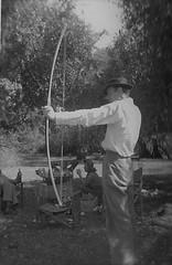 Dick in Ethiopia 1952 (Bury Gardener) Tags: bw blackandwhite old oldies ethiopia africa 1950s 1952 snaps