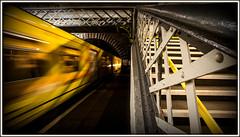 Fast Forward (david.hayes77) Tags: greenlane birkenhead thewirral tranmere class508 merseyrail 2016 underground merseyside motionblur fastforward symbolism