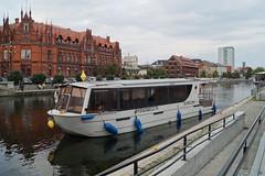Bydgoszcz, tramwaj wodny na Brdzie (grzegorzziętkiewicz) Tags: brda bydgoszcz bromberg tramwaj wodny poland watertram wasserstrassenbahn sonyslta58 2016
