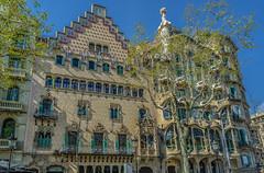 Modernisme Catalan à Barcelone (capvera) Tags: architecture modernisme style 1900 éantoni gaudrijoseph puig barcelona catalunya houses artnouveau sonyimages a7mii